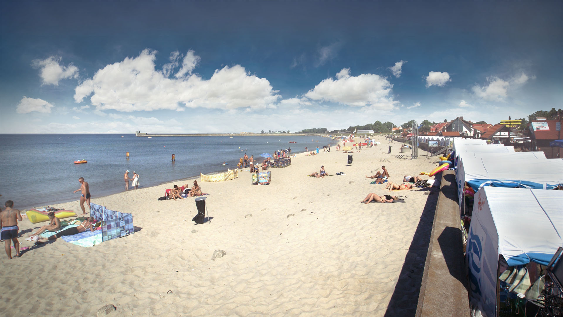 Plaża w Helu